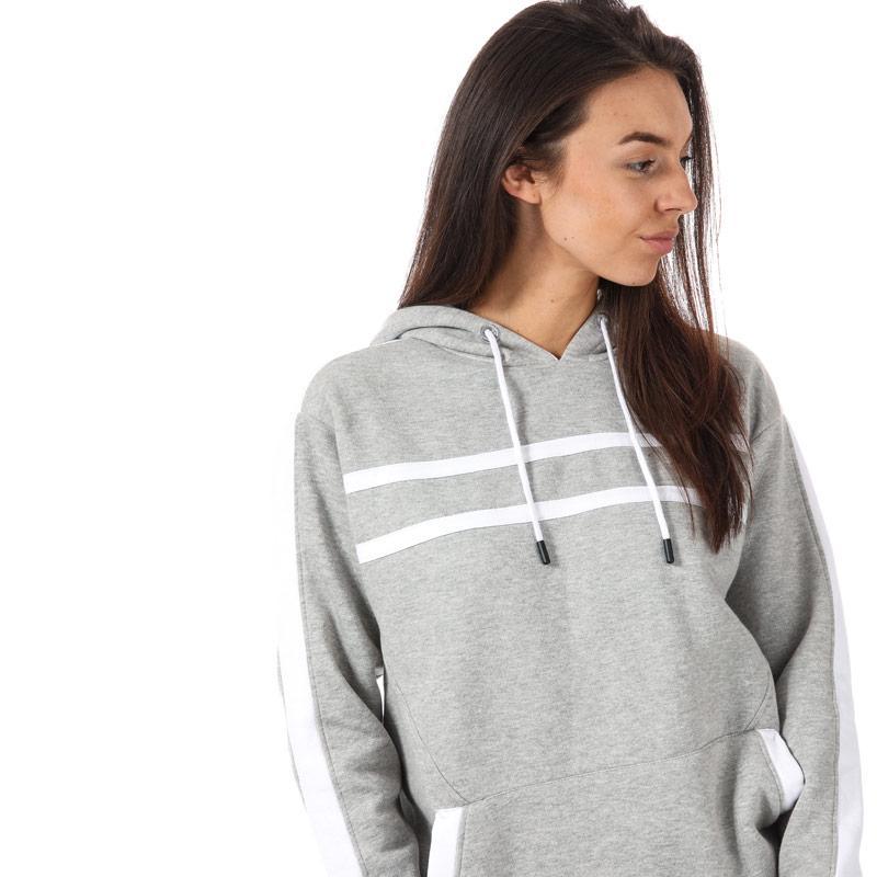 Mikina s kapucí BLFD Womens Sports Hoody Grey Marl