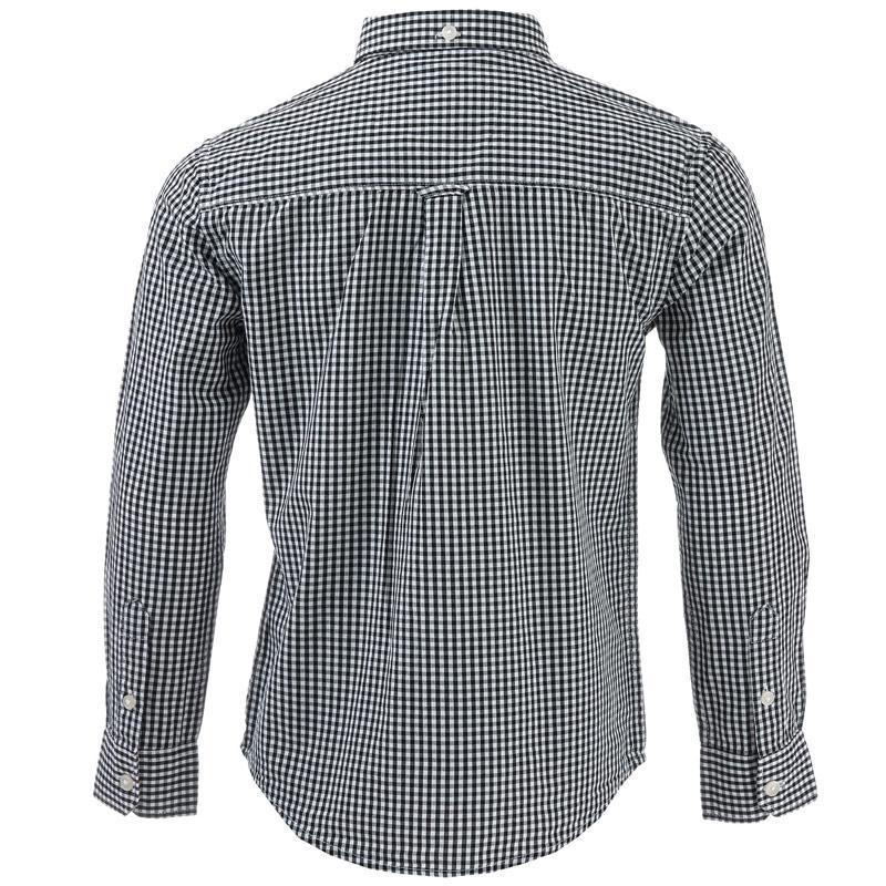 Košile Ben Sherman Infant Boys Classic LS Gingham Shirt Port