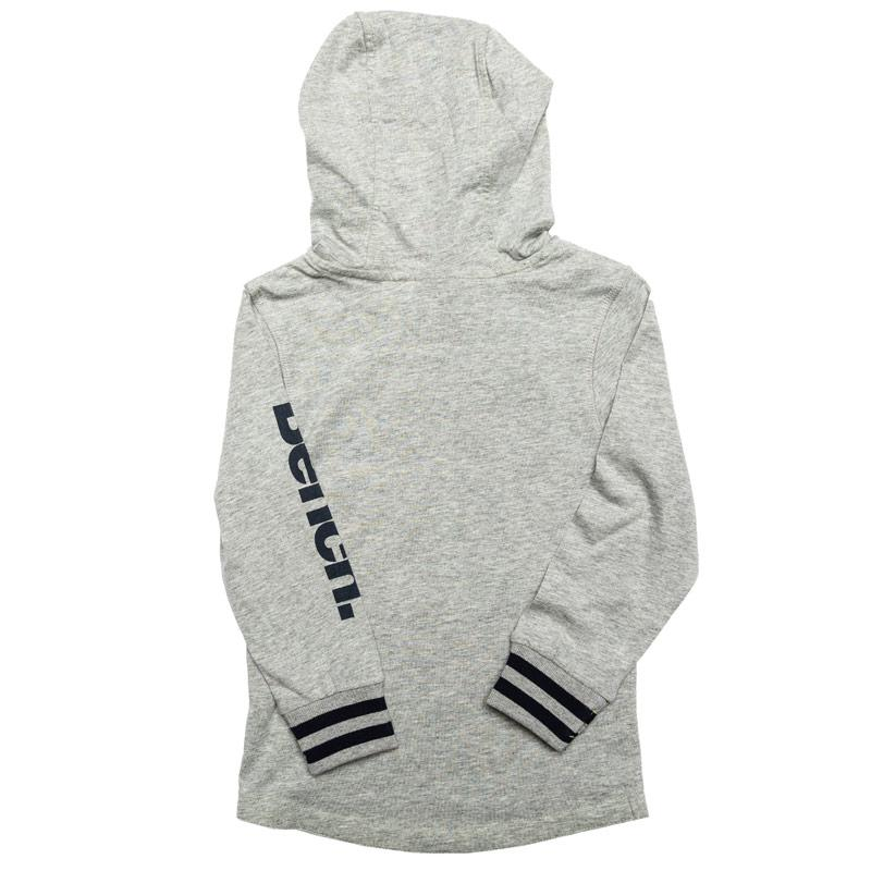 Bench Infant Boys Jersey Hoody Grey Marl