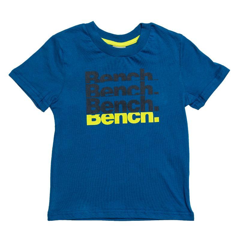 Tričko Bench Infant Boys Printed T-Shirt Royal Blue