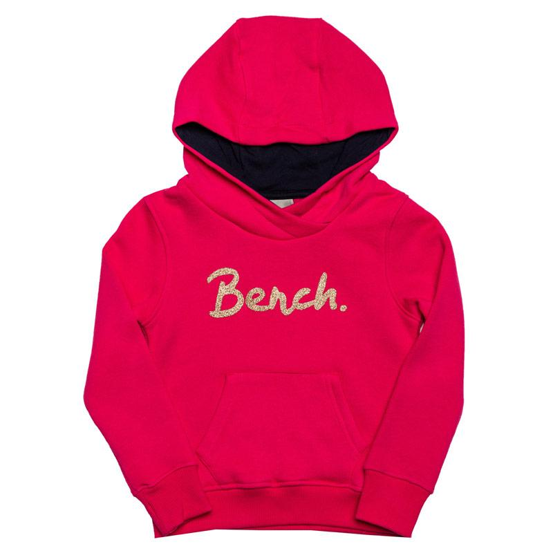 Bench Junior Girls Hoody Pink
