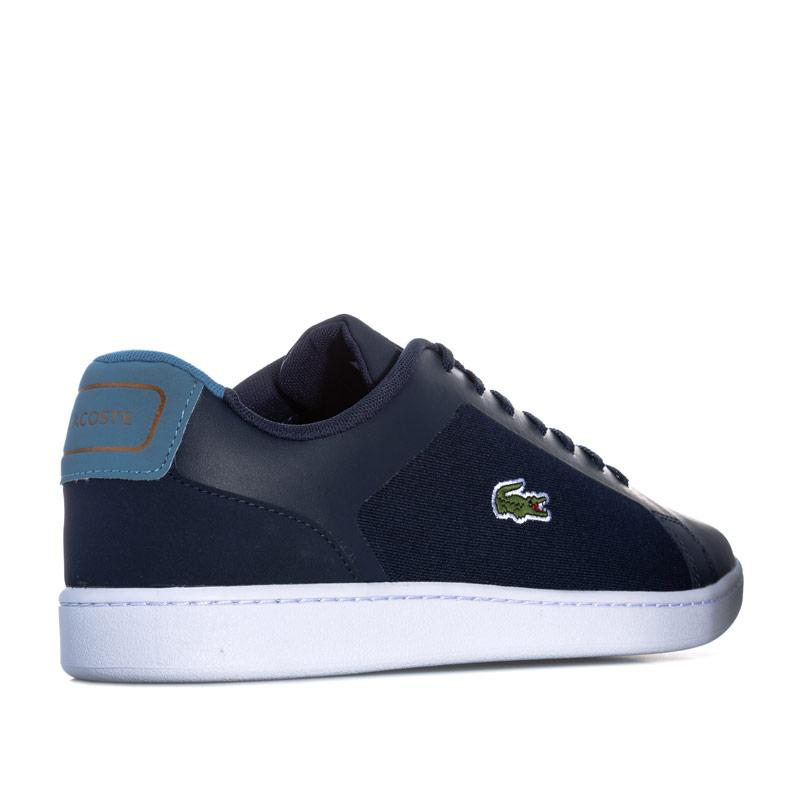 Lacoste Mens Endliner Trainers Navy Royal