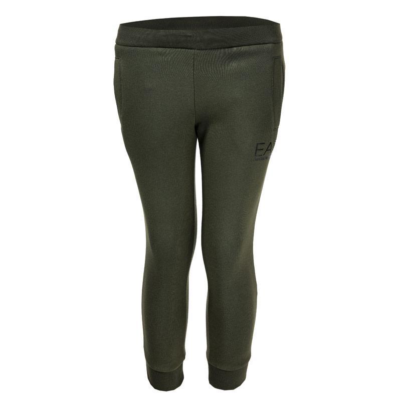 Kalhoty Emporio Armani EA7 Infant Boys Core ID Jog Pants Green