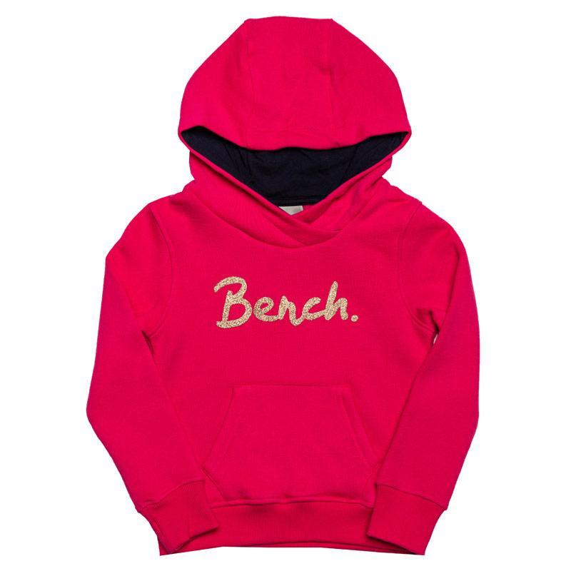 Bench Infant Girls Hoody Pink