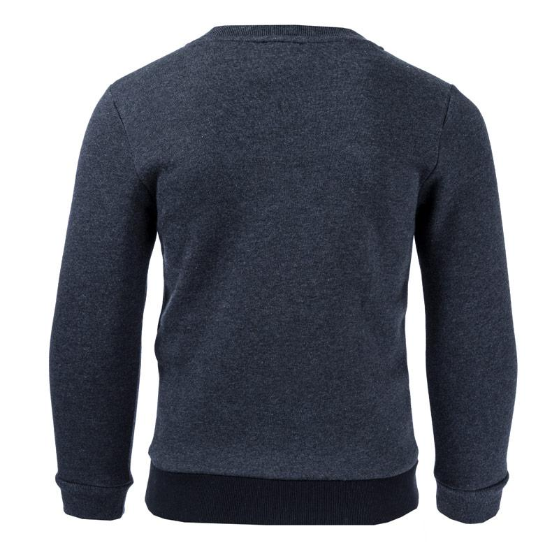 Mikina Emporio Armani EA7 Junior Boys Train Tritonal ID Crew Sweat Charcoal