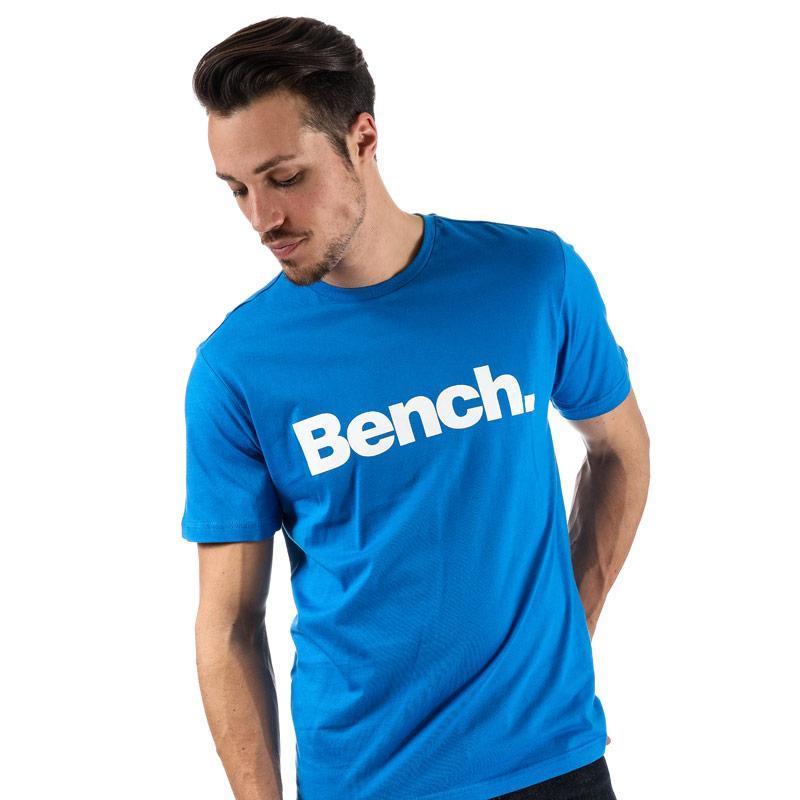 Tričko Bench Mens Core Printed T-Shirt Royal Blue