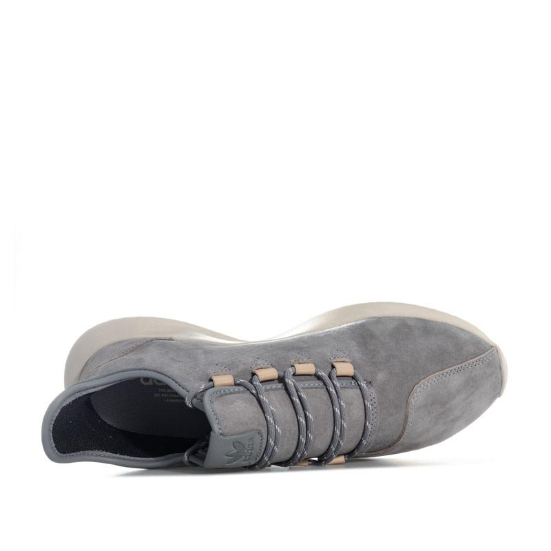 Adidas Originals Mens Tubular Shadow Trainers Grey