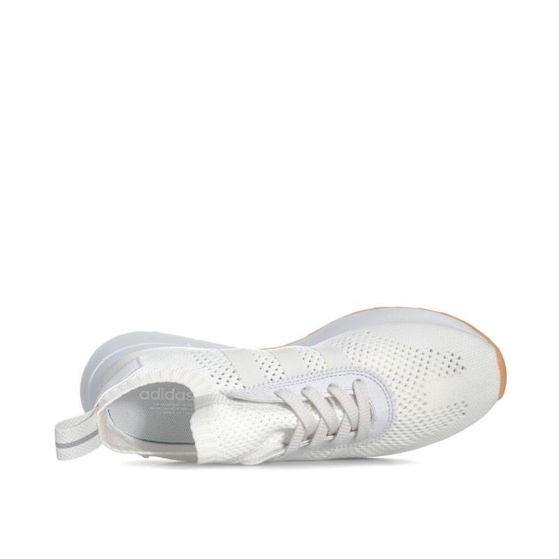 Adidas Originals Womens Primeknit FLB Trainers Black-White