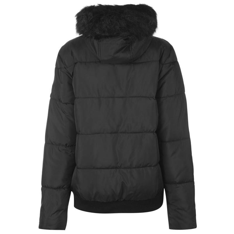 Everlast Bomber Jacket Ladies Black