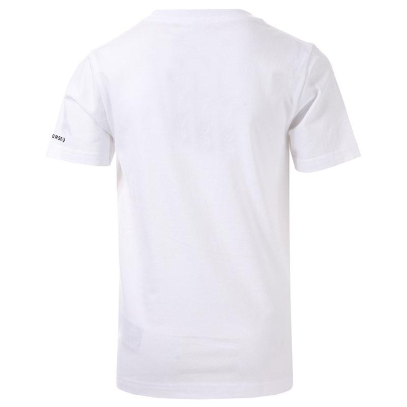 Tričko Converse Junior Boys Pile em Up Sneaker T-Shirt White