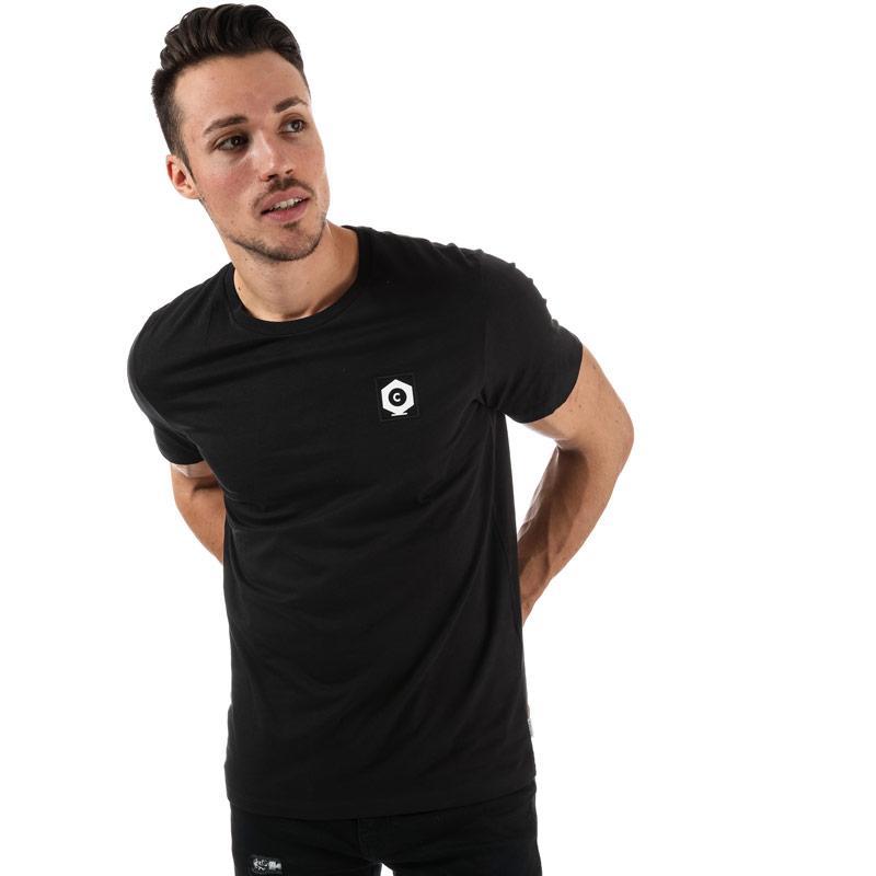 Tričko Jack Jones Mens Bell T-Shirt Black