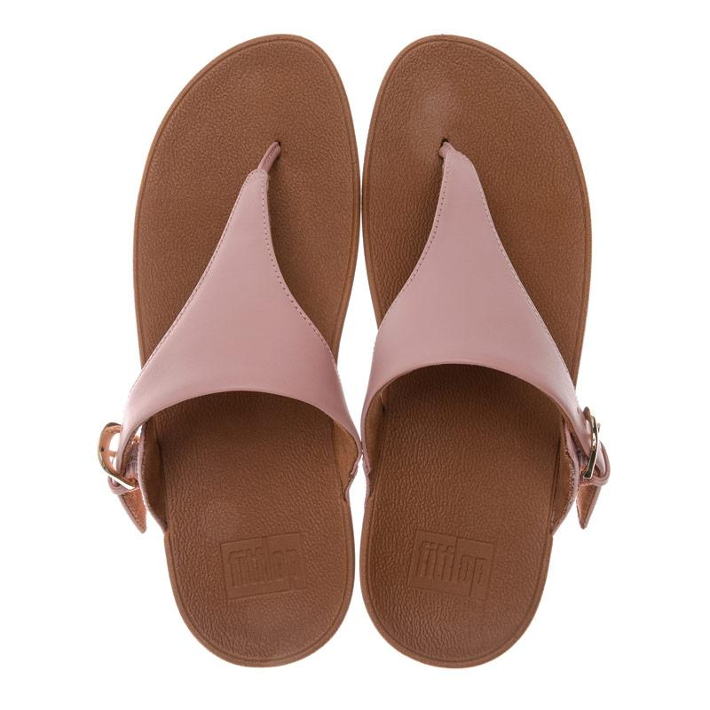 Boty Fit Flop Womens Skinny Leather Toe Thong Sandals Dusky Pink