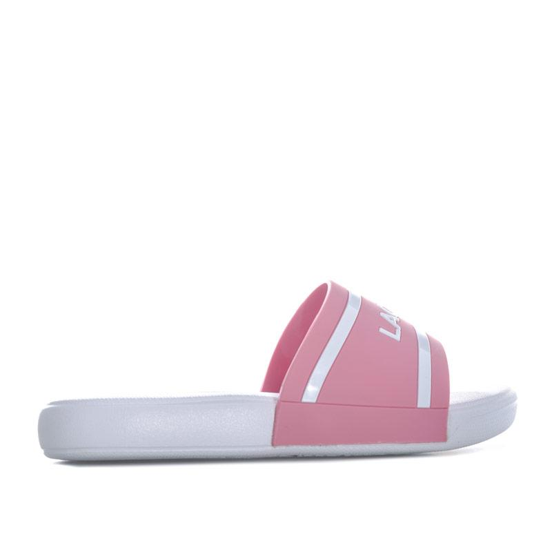 Lacoste Children Girls L.30 118 2 Slide Pink