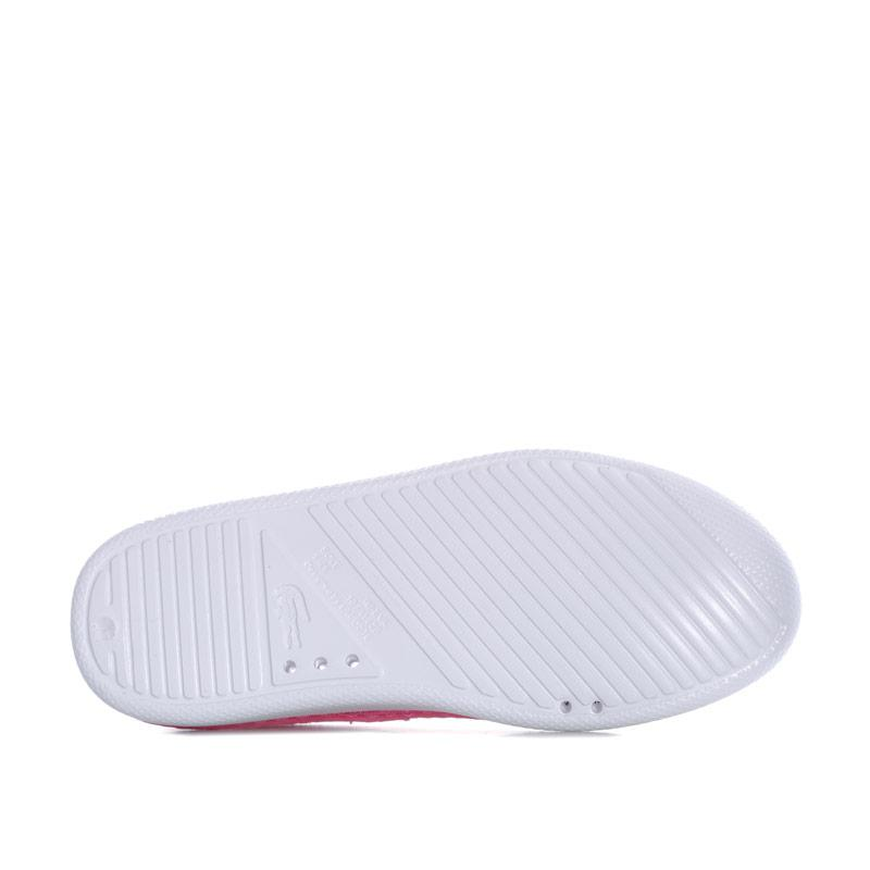Lacoste Children Girls L.ydro 118 Slip on Espadrille Pink