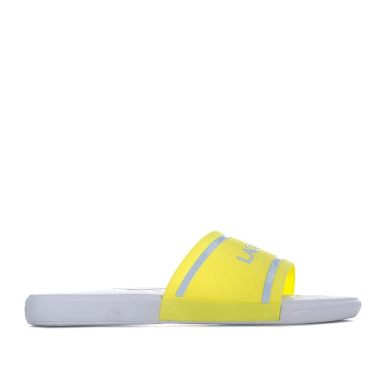 Lacoste Junior Girls L.30 118 2 Slide Yellow
