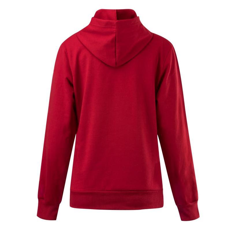 Mikina s kapucí Lee Cooper Hoody Ladies Red