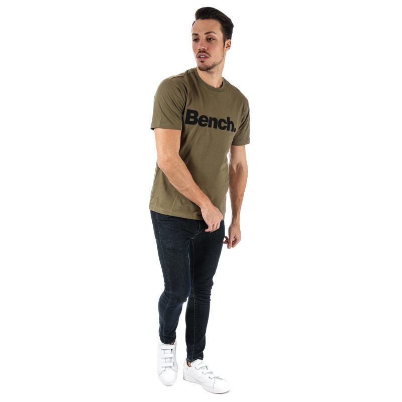 Tričko Bench Mens Core Printed T-Shirt Khaki