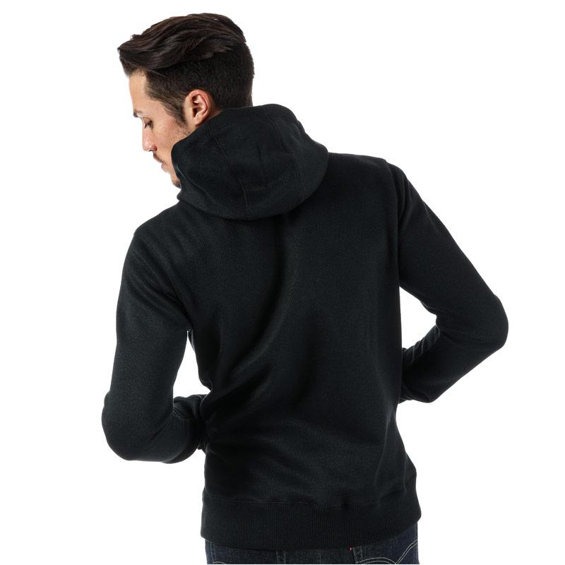 Mikina Bench Mens Heavy Bonded Zip Hoody Black