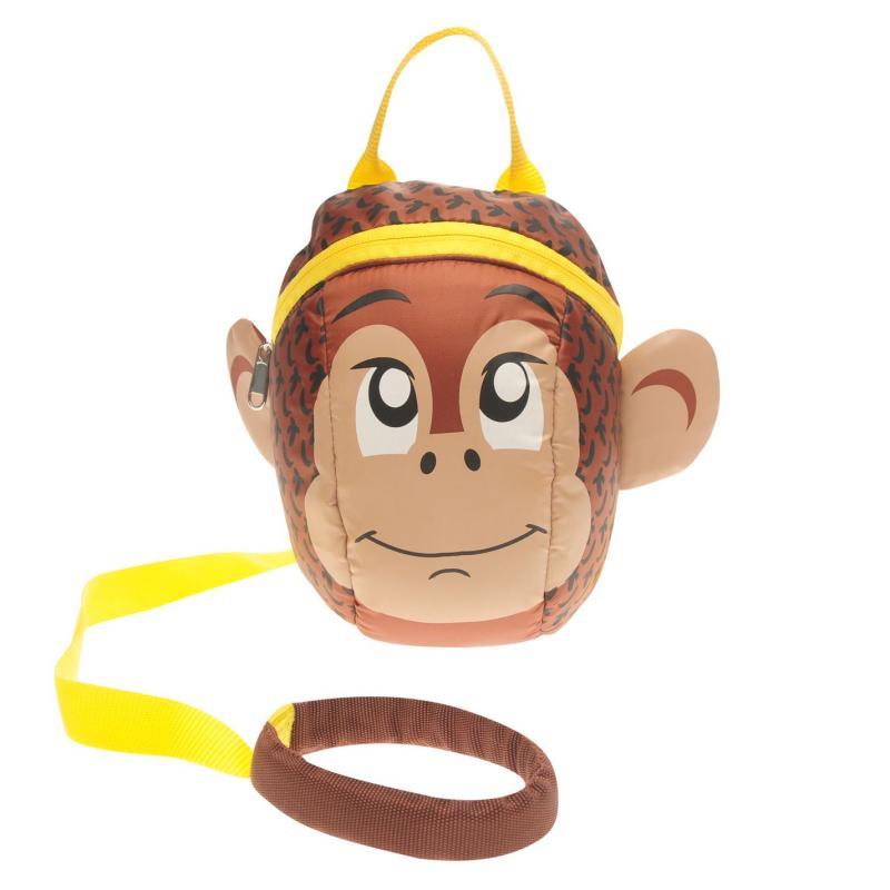 Star Toddler Reins 2 Backpack Infant Boys Cheeky Monkey