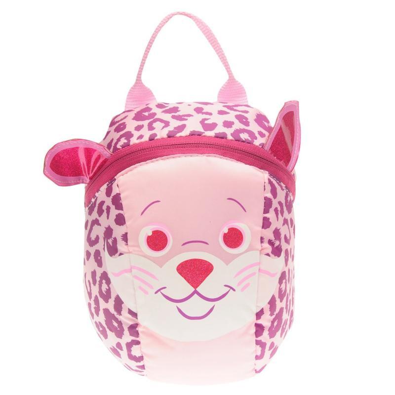 Star Toddler Reins Backpack Infant Girls Cheetah Cub