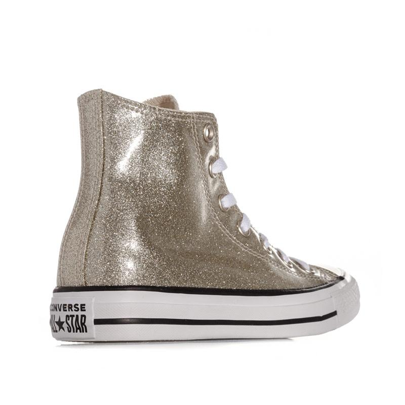 Obuv Converse Womens Chuck Taylor All Star Hi Trainers Gold