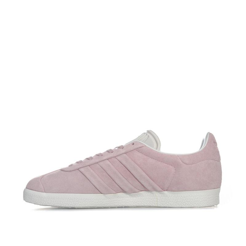 Adidas Originals Womens Gazelle Stitch And Turn Trainers Pink