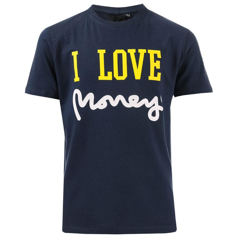 Tričko Junior Boys I Love Money T-Shirt Navy