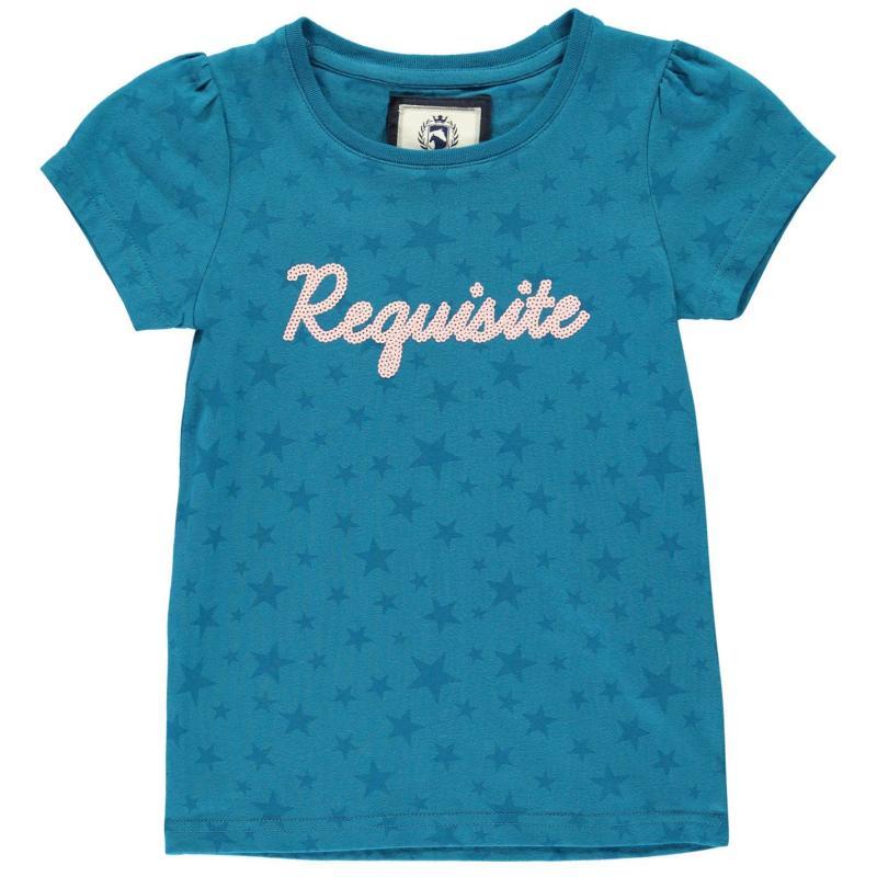 Requisite Girls Star T Shirt Teal
