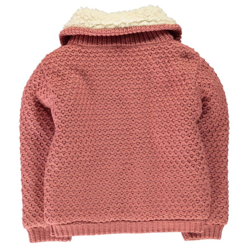 SoulCal Funnel Lined Knit Infant Girls Pink