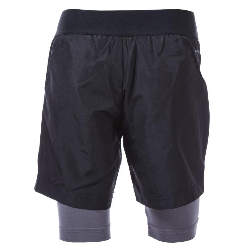 Kraťasy Adidas Originals Junior Boys 2 in 1 Football Shorts Black