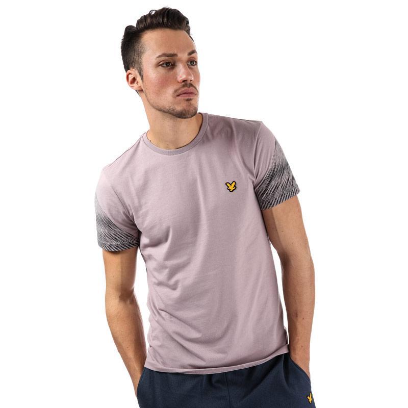 Tričko Lyle And Scott Sport Mens Whitfell Graphic T-Shirt Dusky Pink