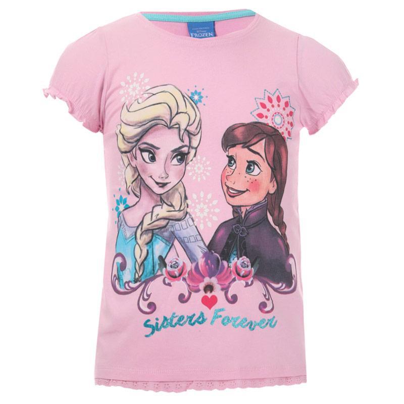 Disney Infant Girls Frozen Forever T-Shirt Pink