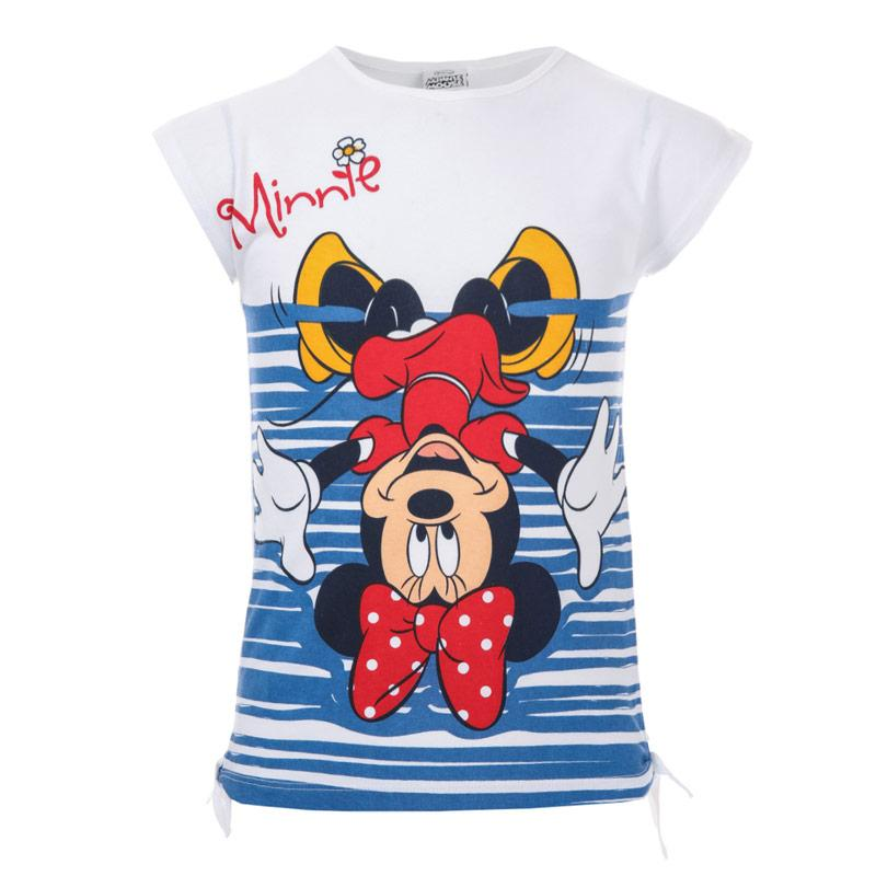 Disney Infant Girls Minnie Mouse Upside Down T-Shirt White