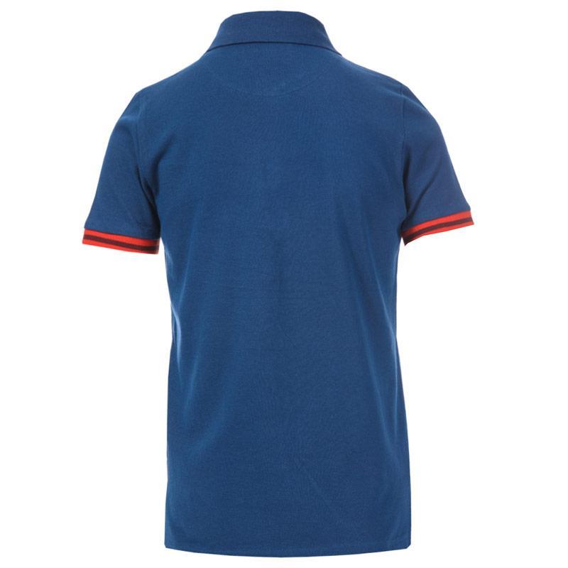 Tričko Ben Sherman Junior Boys Collar Print Polo Shirt Port