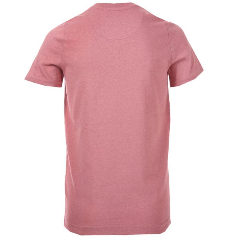 Tričko Ben Sherman Junior Boys Script Text T-Shirt Rose