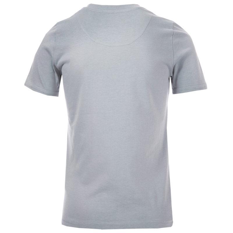 Tričko Ben Sherman Junior Boys Script Text T-Shirt Grey