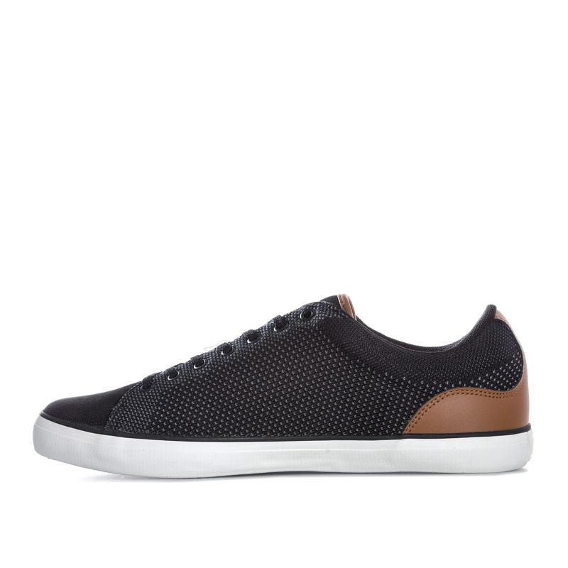 Lacoste Mens Lerond 318 Cam Trainers Black