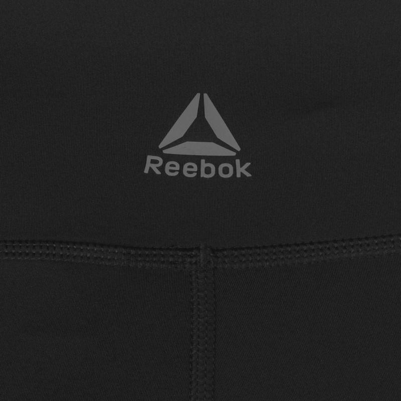 Reebok Mesh Detail Tights Ladies Black
