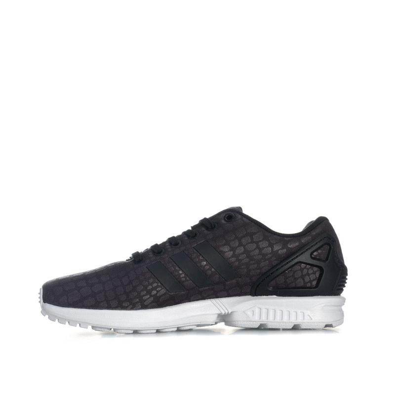 Adidas Originals Womens ZX Flux Trainers Black