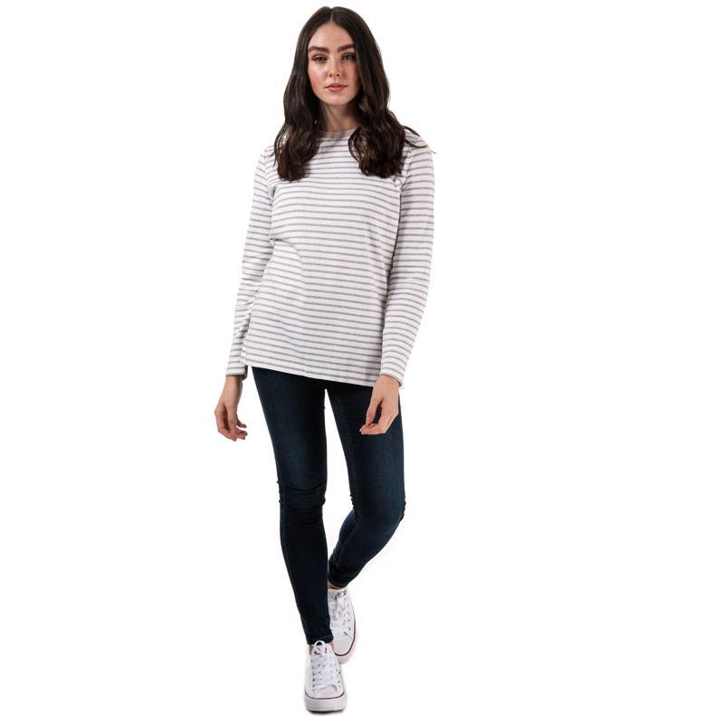 Henri Lloyd Womens Olivia Striped LS T-Shirt Navy