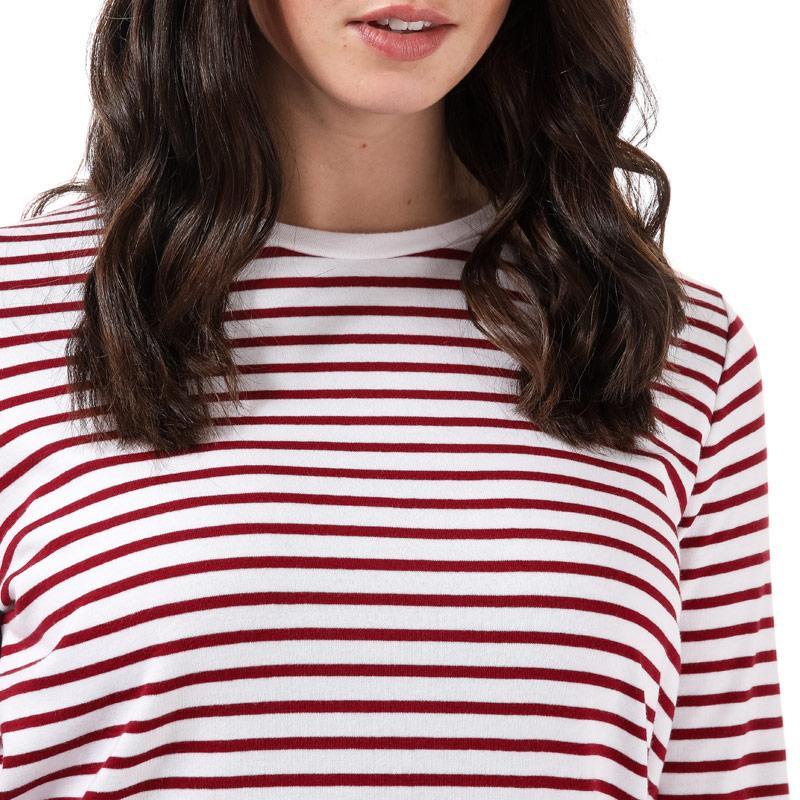Henri Lloyd Womens Olivia Striped LS T-Shirt Camel