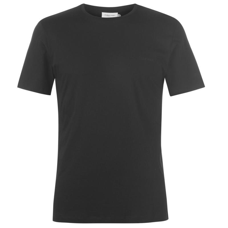 Tričko Calvin Klein Logo T Shirt Mens Black