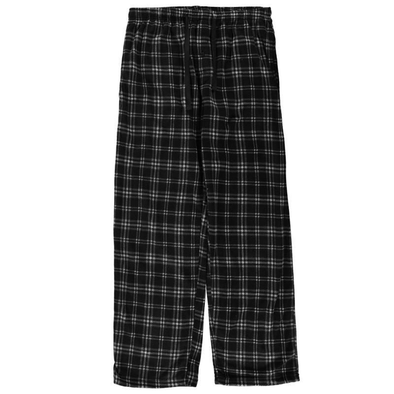 Pyžamo Gelert Soft Plaid Pyjama Bottoms Mens Red Buffalo Pld