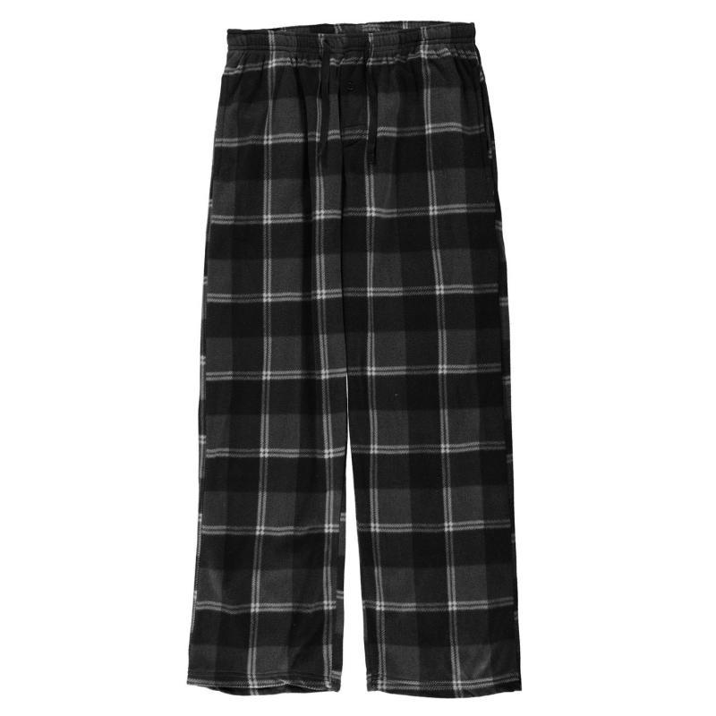 Pyžamo Gelert Soft Plaid Pyjama Bottoms Mens Chr/Blk Plaid