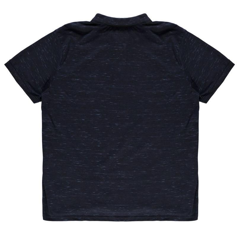 Loyalty and Faith Hinwick Polo Shirt Mens Grey Marl