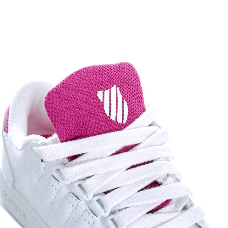 K-swiss Children Girls Lozan 3 Trainers White pink