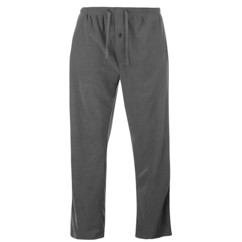 Tepláky Gelert MF Solid Fleece Pants Mens Solid Charcoal