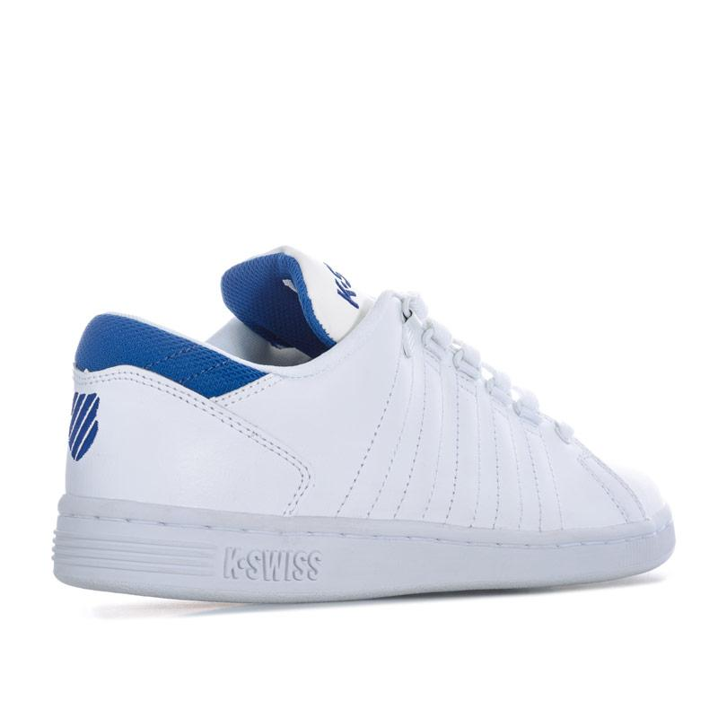 Boty K-swiss Junior Boys Lozan 3 Trainers White blue