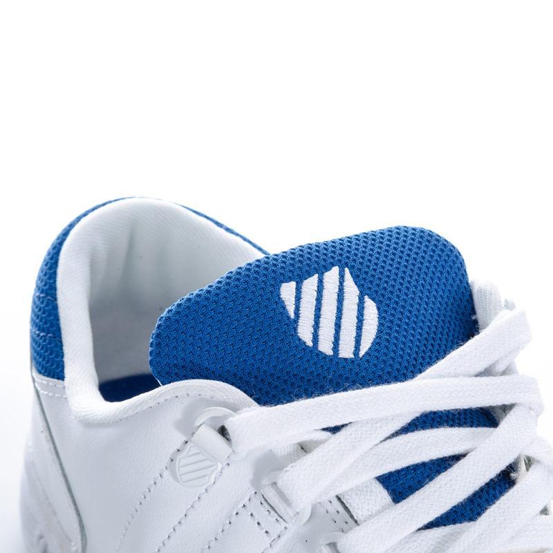 Boty K-swiss Junior Boys Lozan 3 Trainers White blue