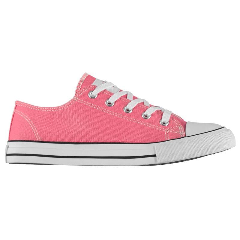 Lee Cooper Canvas Lo Shoes Unisex Juniors Navy